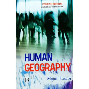 Human Geography By Majid Husain-(English)