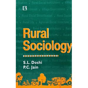 Rural Sociology By S L Doshi, P C Jain-(English)