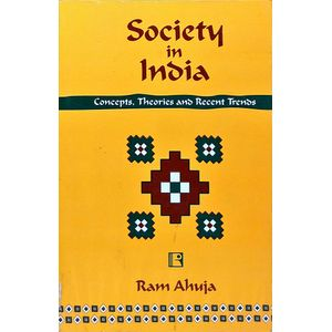 Society In India By Ram Ahuja-(English)