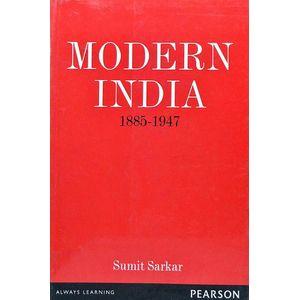 Modern India 1885-1947 By Sumit Sarkar-(English)