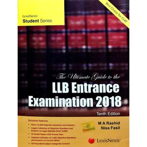 The Ultimate Guide To The Llb Entrance Examination 2018 By M A Rashid, Nisa Fasil-(English)