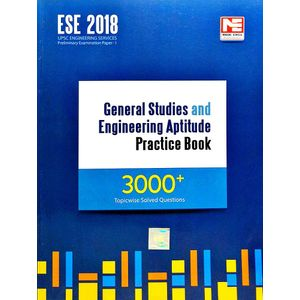 Ese 2018 General Studies And Engineering Aptitude Practice Book 3000+ Topicwise Solved Questions By Made Easy Experts-(English)