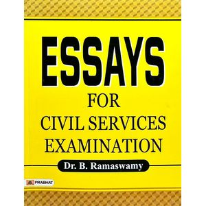 Essays For Civil Services Examination By Dr B Ramaswamy-(English)