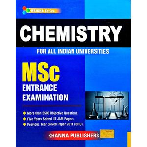 Chemistry For All Indian Universities Msc Entrance Examination By Khanna Editorial Team-(English)