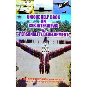 Unique Help Book On Ssb Interviews & Personality Development By Maj Gen Ranjit Singh-(English)