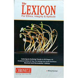The Lexicon For Ethics, Integrity And Aptitude By Niraj Kumar-(English)