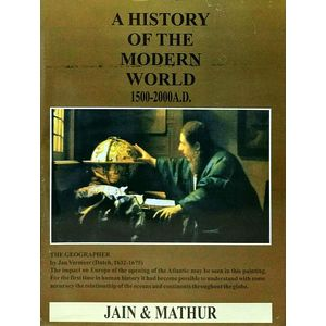A History Of The Modern World 1500 - 2000 Ad By Jain Mathur-(English)
