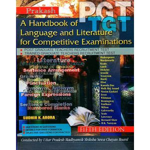 Handbook Of English Literature Tgt/Pgt By Dr Sudhir, K Arora-(English)