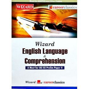 Wizard English Language & Comprehension By Jojo Mathew, Manish K Gautam-(English)