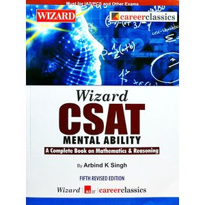 Csat Mental Ability By Arbind K Singh-(English)