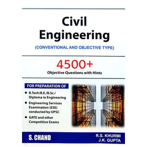 Civil Engineering Conventional And Objective Type By R S Khurmi, J K Gupta-(English)