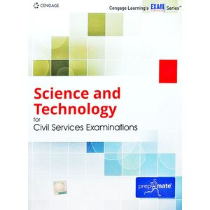 Science And Technology For Civil Services Examinations By Editorial Team-(English)