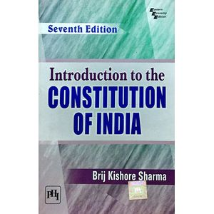 Introduction To The Constitution Of India By Brij Kishore Sharma-(English)