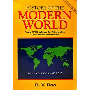 History Of Modern World By B V Rao-(English)