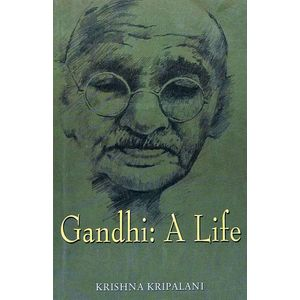 Gandhi A Life By Krishna Kripalani-(English)