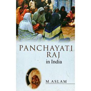 Panchayati Raj In India By M Aslam-(English)