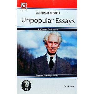 Bertrand Russell Unpopular Essays By Dr S Sen-(English)