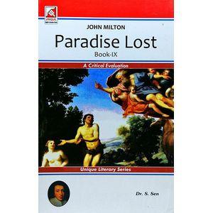 John Milton Paradise Lost Book 9 By Dr S Sen-(English)
