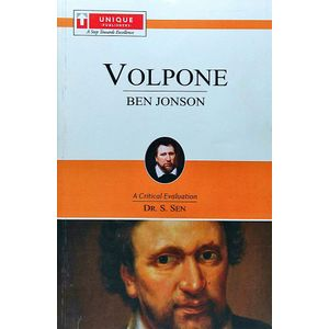 Ben Jonson Volpone By Dr S Sen-(English)