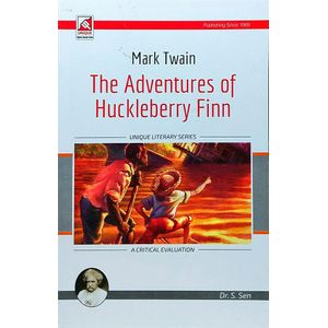 Mark Twainthe Adventures Of Huklbery Finn By Dr S Sen-(English)