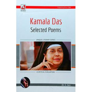 Kamla Das Selected Poems By Dr S Sen, N K Sharma-(English)