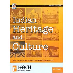 Indian Heritage And Culture By J K Chopra-(English)
