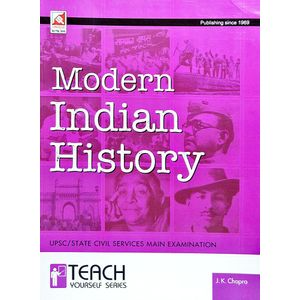 Modern Indian History By J K Chopra-(English)
