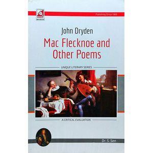 John Dryden Mac Flecknoe And Other Poems Other Poems By Dr S Sen-(English)