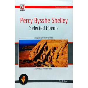 P B Shelley Selected Poems By Dr S Sen-(English)