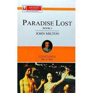 John Miltonparadise Lost Book 1 By Dr S Sen-(English)