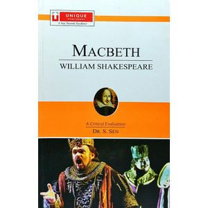 William Shakespeare Macbeth By Dr S Sen-(English)
