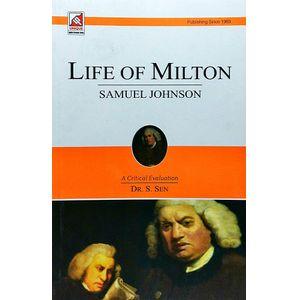Dr Samuel Johnson Life Of Milton By Dr S Sen-(English)