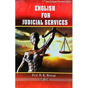 English For Judicial Services By Prof B K Rastogi-(Hindi)