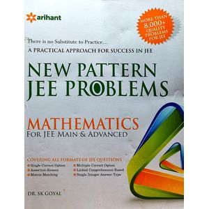 New Pattern Jee Problems Mathematics For Jee Main & Advanced By Dr S K Goyal-(English)