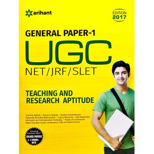 Ugc Net/Jrf/Slet General Paper-1 Teaching & Research Aptitude By Arihant Experts-(English)