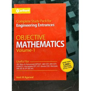 Complete Study Pack For Engineering Entrances Objective Mathematics For Engineering Entrances Vol 1 By Amit M Agarwal-(English)