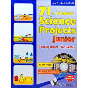 71+10 New Science Project Junior With Cd By Editorial Board-(English)
