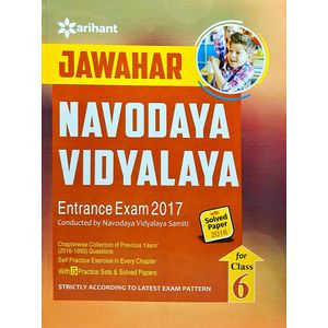 Jawahar Navodaya Vidyalaya Entrance Exam Class 6 By Arihant Experts-(English)