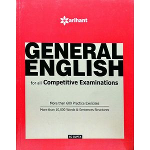 General English For All Competitive Examinations By Sc Gupta-(English)