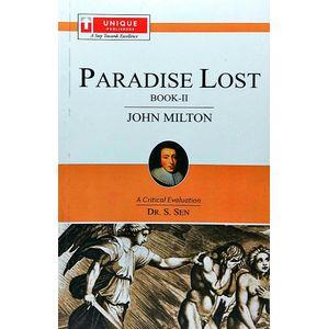 Paradise Lost Book-2 John Milton By Dr S Sen-(English)
