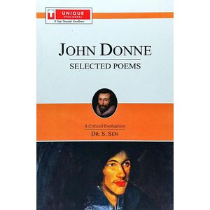 John Donne Selected Poems By Dr S Sen-(English)