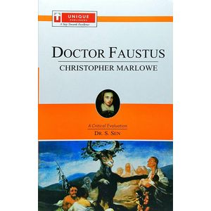 Doctor Faustus Christopher Marlowe By Dr S Sen-(English)