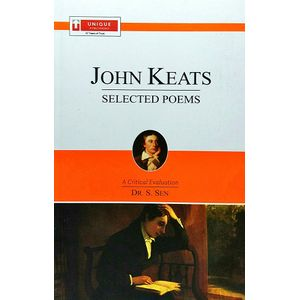 John Keats Selected Poems By Dr S Sen-(English)