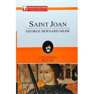 Saint Joan By Dr S Sen-(English)