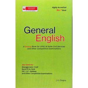 Unique General English By J K Chopra-(English)