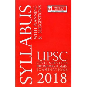 Upsc Civil Services Syllabus By Unique Experts-(English)