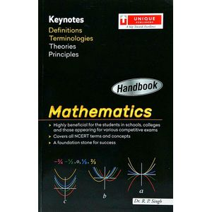 Handbook Mathematics By Dr R P Singh-(English)