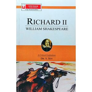 Richard 2 William Shakespeare By Dr S Sen-(English)
