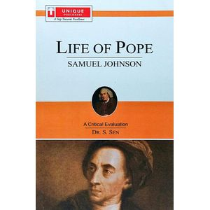 Life Of Pope By Dr S Sen-(English)