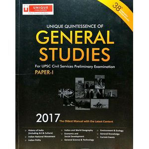 General Studies 2017 Paper 1 By J K Chopra-(English)